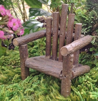 Fairy Gardens Adirondack Chair