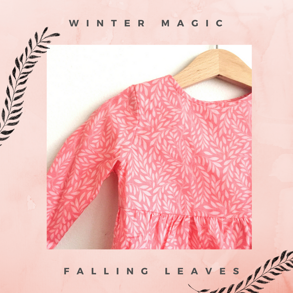 Mimi Dress | Falling Leaves
