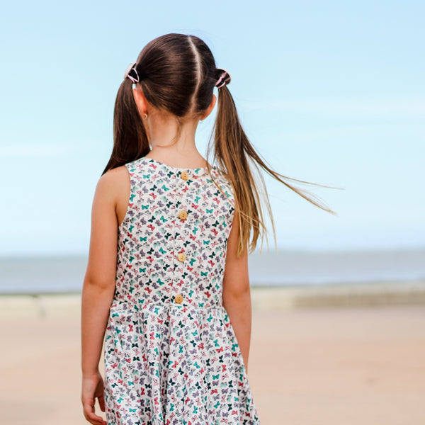Selina Twirly Dress | Butterfly