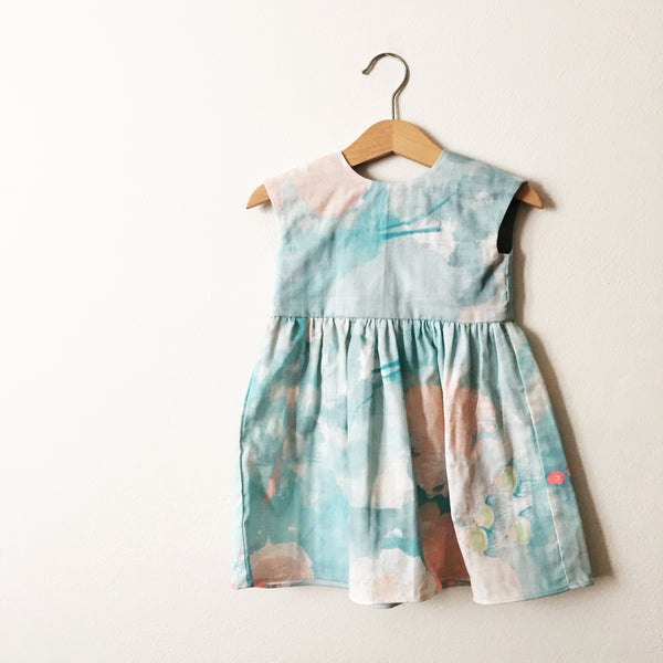 Gigi Dress | Aqua Swash
