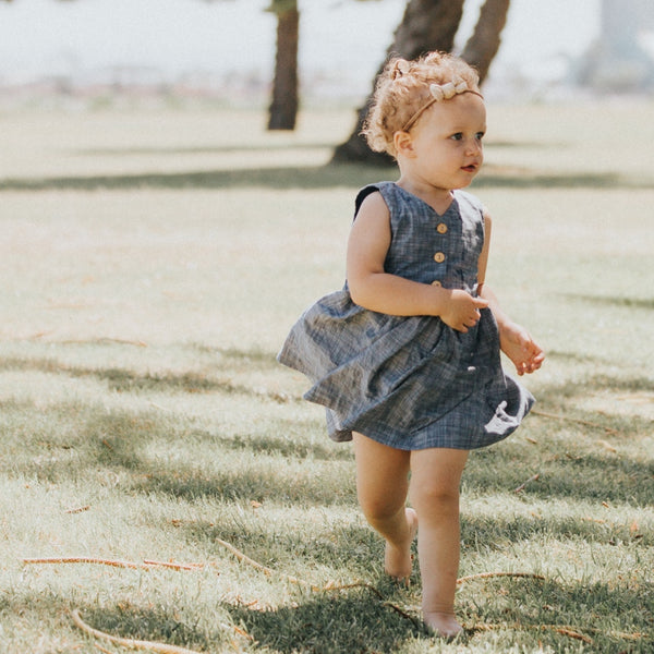 Lauren Dress | Slub Chambray