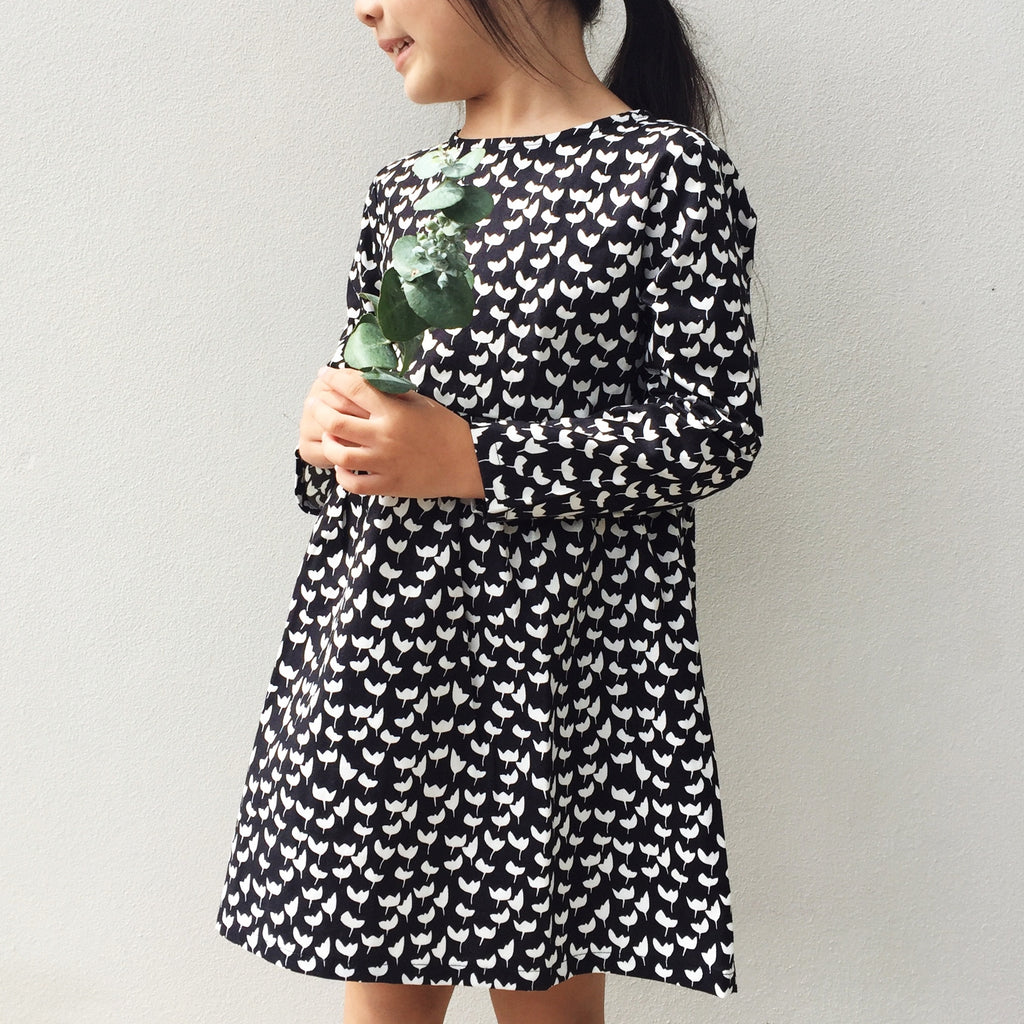 Mimi Dress | Monochrome