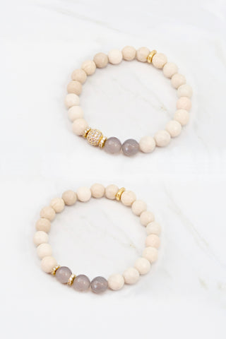 KENNEDY GOLD riverstone/gray agate