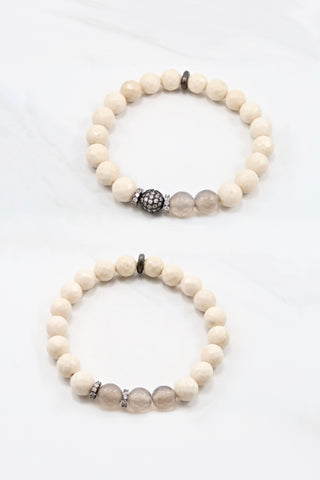 KENNEDY GUNMETAL riverstone/gray agate