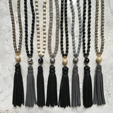 AVA gunmetal Necklace by NICOLE LEIGH Jewelry