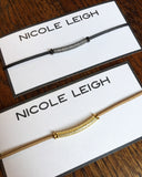 KARLY gold Necklace by NICOLE LEIGH Jewelry