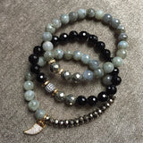BRIDGETTE labradorite Bracelet by NICOLE LEIGH Jewelry