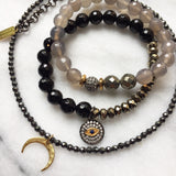 BELLE onyx Bracelet by NICOLE LEIGH Jewelry