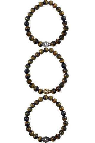JOHN tiger's eye Men's by NICOLE LEIGH Jewelry