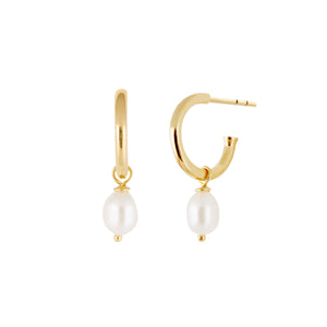Pearl Earrings - Gold