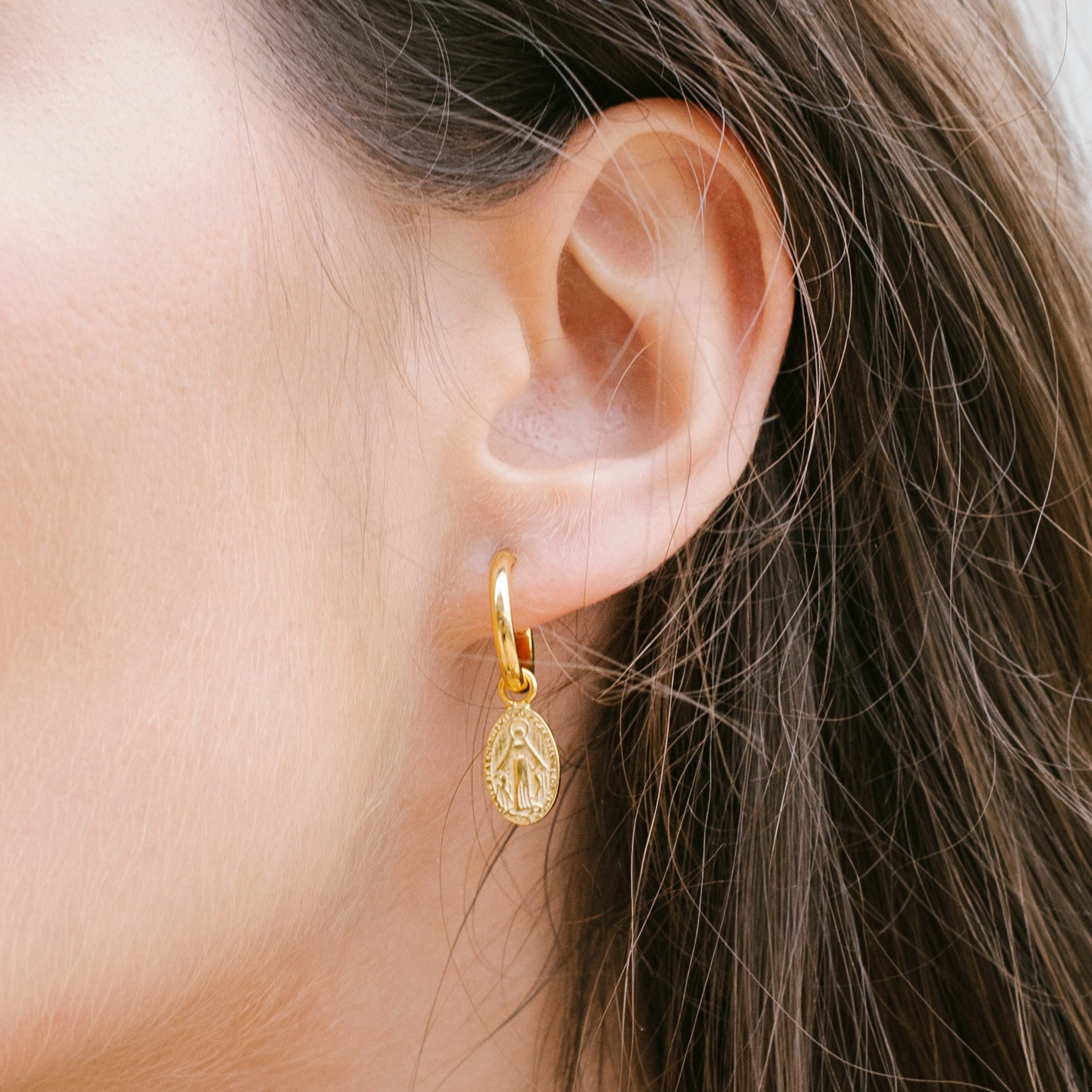 Holy Earrings - Vermeil