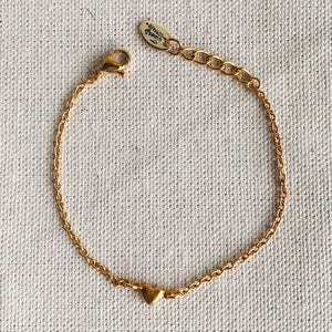 Bracelet Hopeless Romantic Plaqué Or