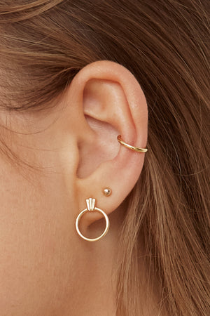 Ear Cuff Basic - Vermeil