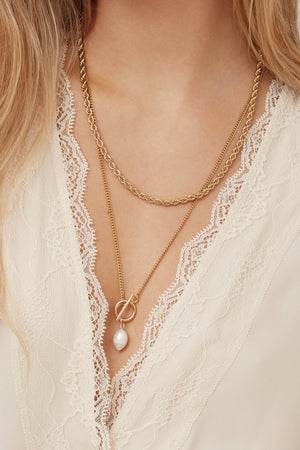 Collier Romance - Plaqué Or