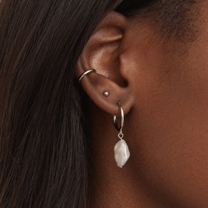 Ear Cuff Basic - Argent Sterling