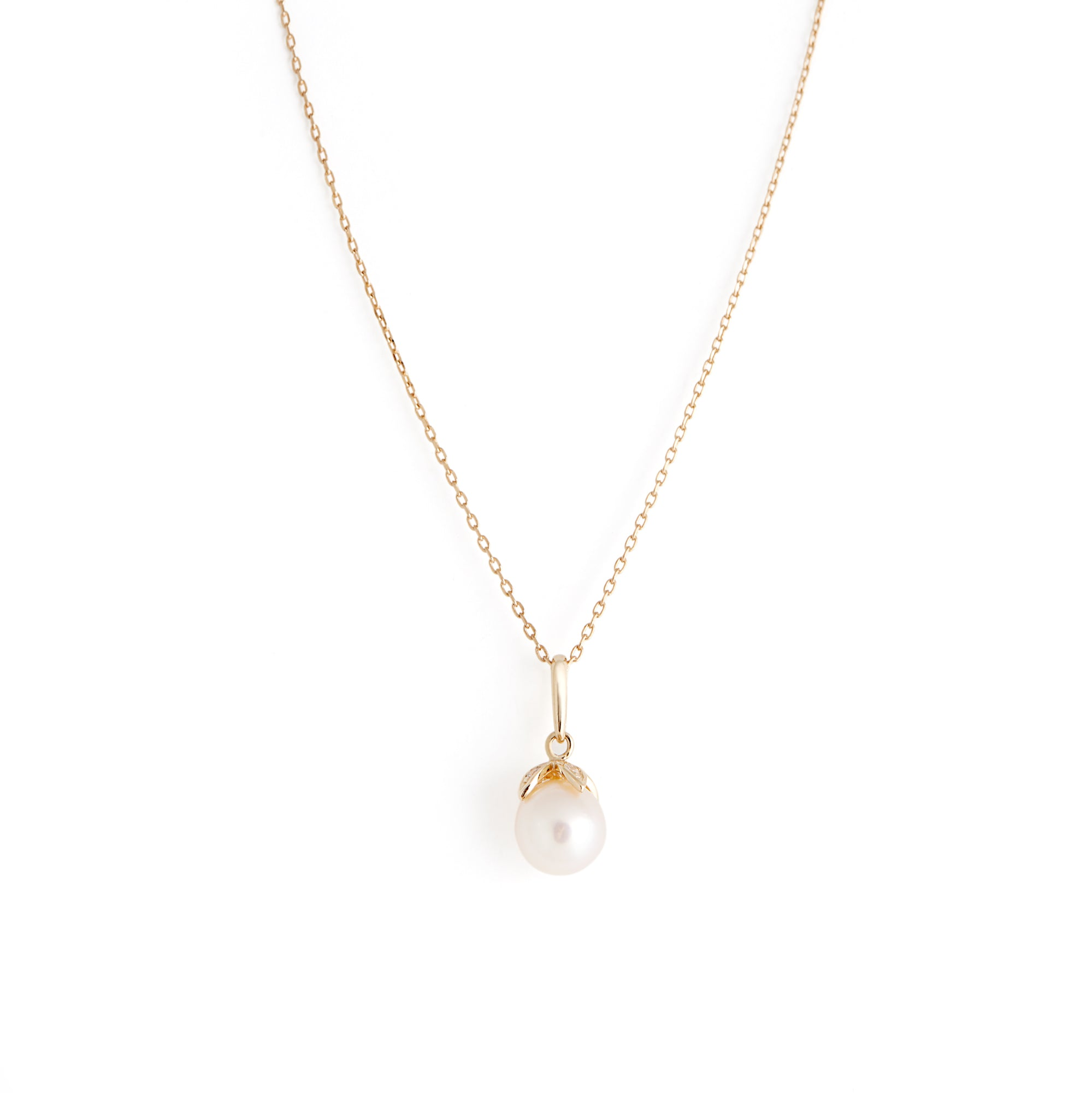 Collier Pearl - Or 10 carats