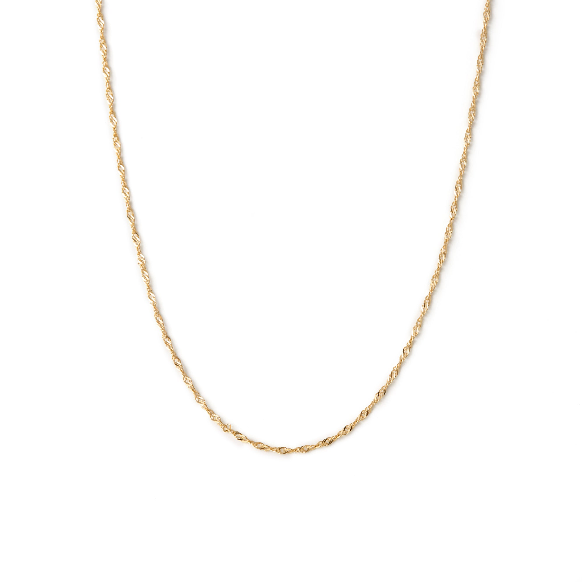 Collier Torsade - Or 10k