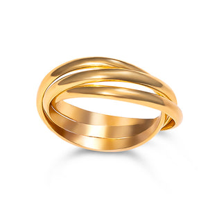 Triple Ring - Vermeil