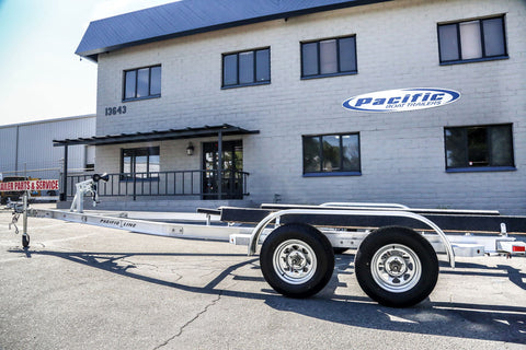New Aluminum I-Beam Boat Trailer