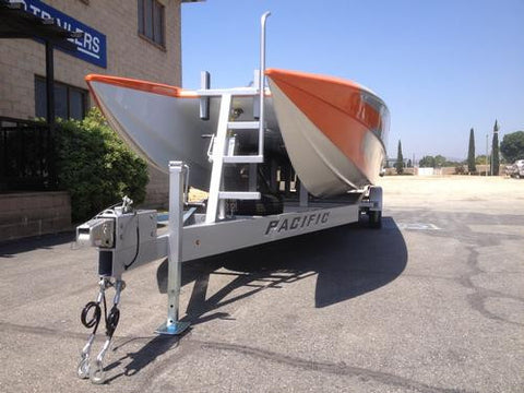 Painted Boat Trailer