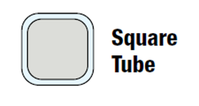 Square Tube Axle