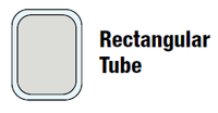Rectangular Tube Axle