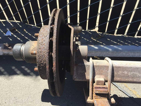 Pacific Trailers Bad Axle