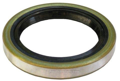 """Oil and Grease Seal 1.142/""""x 1.693/""""x 0.315/"""" Inch Rubber Covered Double Lip w//Gart"""
