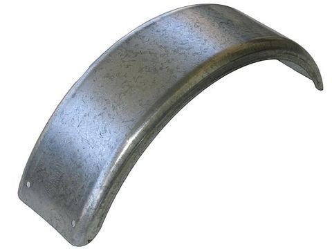 "Galvanized Single Axle Trailer Fender (7.5"" W x 25"" L) - Pacific Boat Trailers"