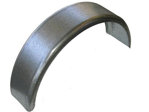 "Galvanized Single Axle Trailer Fender (7.5"" W x 34"" L) - Pacific Boat Trailers"
