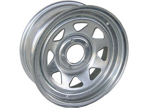 "15"" 6-Lug Galvanized Trailer Wheel/Rim #WY1566SG - Pacific Boat Trailers"