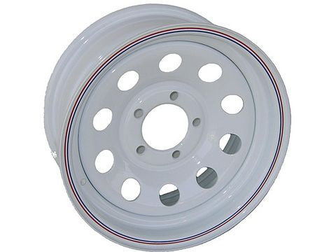 "15"" 5-Lug Painted Trailer Wheel/Rim - Pacific Boat Trailers"
