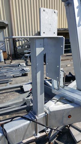 Custom Mounting Stand for Titan Brake-Rite Actuators. #PT-BRSTAND - Pacific Boat Trailers