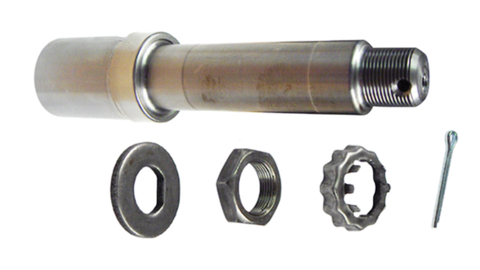 "Trailer Axle Spindle, Straight for 1 1/16"" x 1 1/16"" bearings, 1500-2500lb. Axles UFP 33696 - Pacific Boat Trailers"