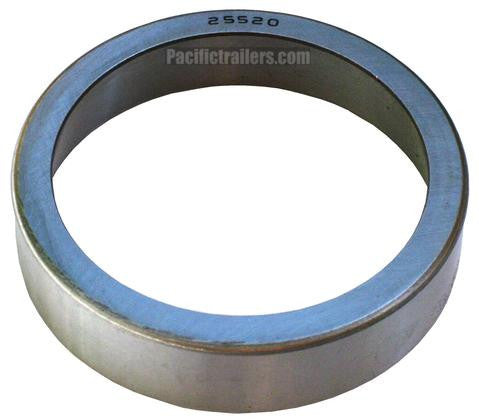 Bearing Race/Cup #25520 for use with 25580 Bearings - Pacific Boat Trailers