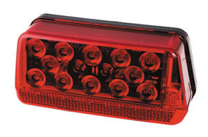 LED Waterproof Rightt-Hand Trailer Tail Light (Curbside) #281594 - Pacific Boat Trailers