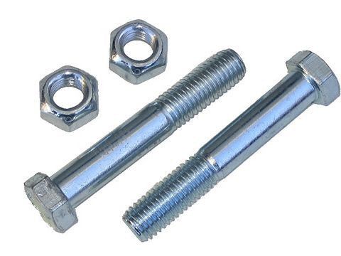 "9/16"" x 3 1/2"" Shackle Bolts & Nuts (1-Pair) - Pacific Boat Trailers"