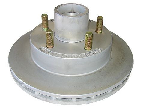 "KODIAK 10"" Integral Hub/Rotor-Dacrament finish #ROTOR/HUB-10-DAC - Pacific Boat Trailers"