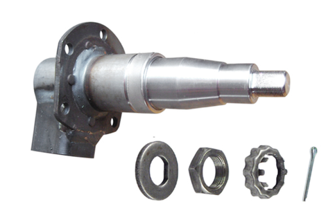 "Trailer Axle Spindle, Tapered for 1 3/4"" x 1 1/4"" bearings, 5200lb Axles - Pacific Boat Trailers"