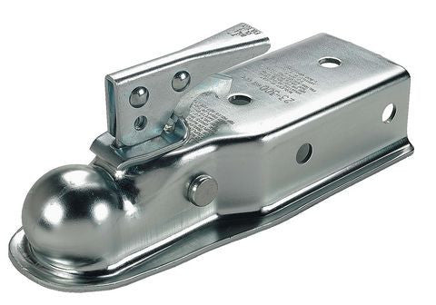"2"" Ball, 3"" Channel-H.D. 5000lbs. Straight Tongue Trailer Coupler #34300 - Pacific Boat Trailers"