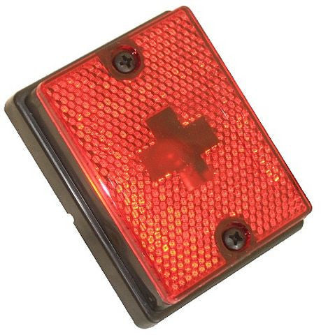 WESBAR Red Clearance/Side Marker Light #203113 - Pacific Boat Trailers