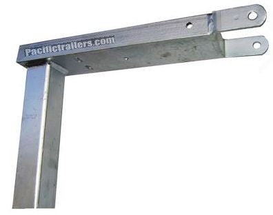 Boat Trailer Winch Mount Top, Galvanized - Under Mount, No Rise - Pacific Boat Trailers
