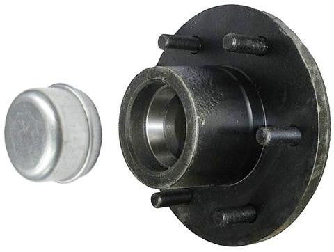 "Trailer Hub KIT for 5200-6000lb. axles, 25580/67048 Bearings - 6/5.5"" # 65255 - Pacific Boat Trailers"