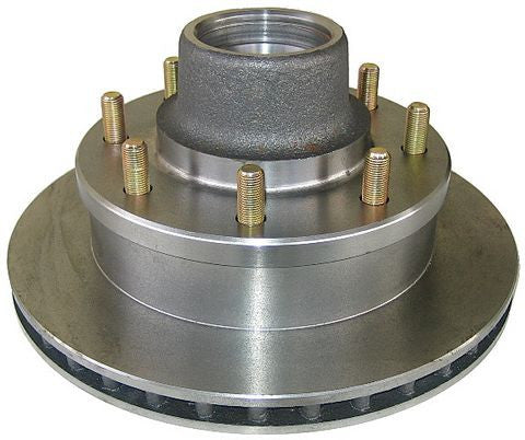 UFP DB-42 8-Lug Rotor Assembly Bearings and Seal included. - Pacific Boat Trailers