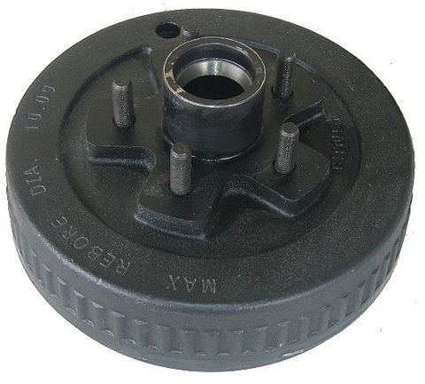 Trailer Brake Drum Amp Hub 5 On 4 5 10 Quot X 2 1 4 Quot 41048