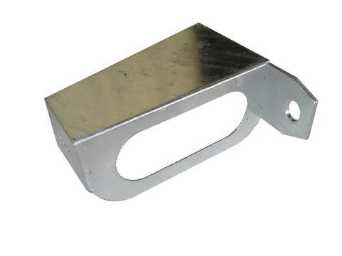 Galvanized Left Hand Trailer Tail Light Bracket - Pacific Boat Trailers