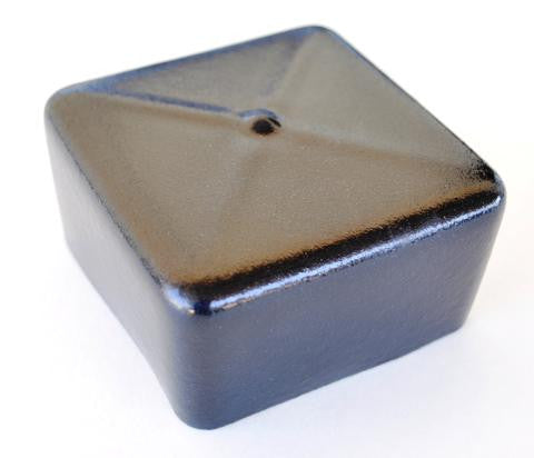 Vinyl End Cap for 3x3 Steel/Aluminum Tubing - Pacific Boat Trailers