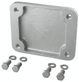 "FULTON F2 Weld On Mounting Bracket for F2 Swing Jacks with 3"" x 4"" Mounts #500277 - Pacific Boat Trailers"