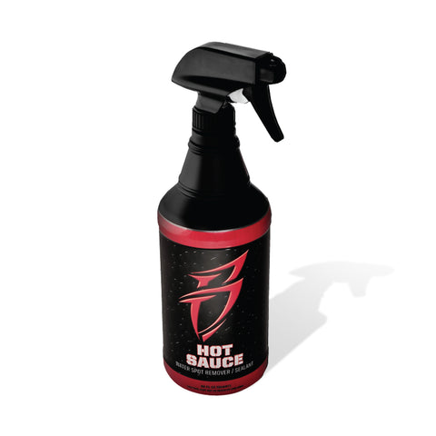Boat Bling HOT SAUCE, Boat Cleaner, Hard Water Spot Remover (32 oz) #HS0032 - Pacific Boat Trailers
