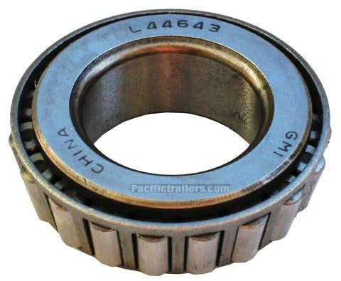 "Trailer Bearing #L44643 for 2000lb. axles, 1.00"" ID - Pacific Boat Trailers"